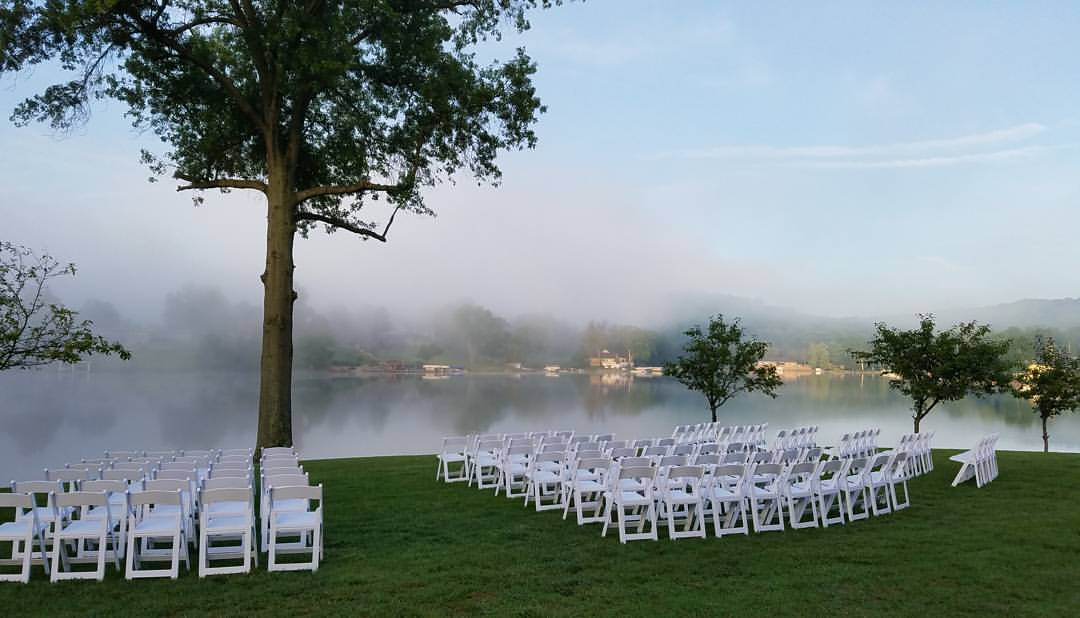 Wedding By Lake